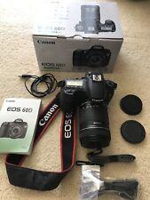 Canon  EOS 60D 18.0 MP Digital SLR Camera - Black (Kit w/ EF-S IS 18-125mm Lens)