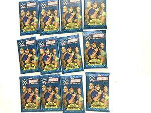 2017 TOPPS WWE HERITAGE  PACKS ( 12 PACK LOT )