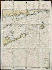 NOAA 1999 35th Ed. Block Island Sound &Approaches Nautical Chart United States