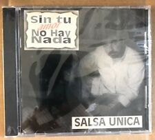 "SALSA UNICA - "" SIN TI AMOR NO HAY NADA"" - CD"