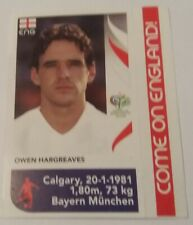 Owen Hargreaves England World Cup 2006 Panini Sticker