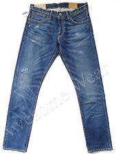 New Ralph Lauren Polo 100% Cotton Sullivan Slim Distressed Jeans size 34 x 32