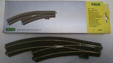 * Trix 62671 HO Manual Curved Left Hand C Track Point Scale HO / 00 Brand New