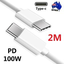 PD Type-C to USB-C 3.1 Data Fast Charger Charging Cable For Samsung S9 S8 Note 9