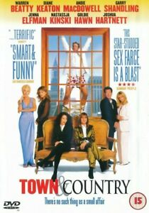 Town And Country - Warren Beatty - Goldie Hawn - DVD PAL Region 2 - (New)