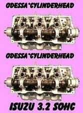 PAIR ISUZU RODEO TROOPER 3.2 SOHC CYLINDER HEADS V6 12V REBUILT