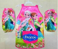 Elsa Anna apron pinafore Cuff outer waist cloth sleeve cover waist cloth Frozen