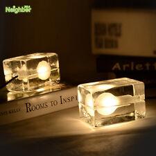 Ice Block Cube DIY Table Lamp Floor Light Lighting Living Room Bar Club Design