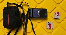 Sony Cyber-shot DSC-H70 16.1MP Digital Camera + Case + 2 Batteries