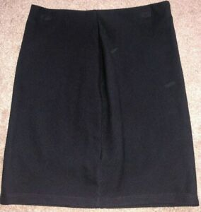 Ladies Skirt From M & S Collection. Size 10. Black. Knee Length