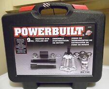 Powerbuilt 9pc Master Hub Puller Kit #40 -  Brand New - Never Opened