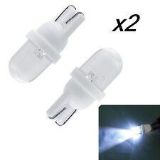 x2 Bombillas LED, T10 5050 9SMD 5W5, DC12V, varios colores, posicion, matricula.