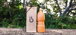 Sri Lankan Hand Made Healthy Clay Water bottle 100% Nature,100% Eco Friendly Ite