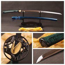 Handmade1060 Carbon Steel Katana Blade Sharp Japanese Samurai Swords Full Tang