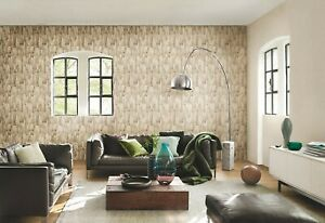 RASCH WALLPAPER 446654 WOOD EFFECT  **OUR PRICE £15.95**