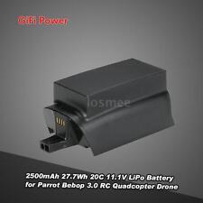 GiFi Power 2500mAh 11.1V LiPo Battery for Parrot Bebop 3.0 RC Quadcopter M1W9