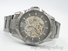 RELIC by Fossil ZR11853 Skeleton Dial Black Stainless Steel Automatic Men Watch