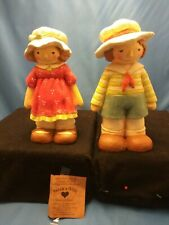 Lot of Two Sarahs Attic By The Sea Man And Woman Vintage Cute