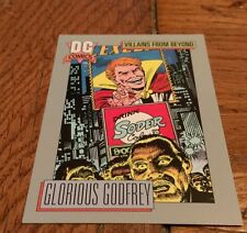 1991 DC COMICS Villians From Beyond Glorious Godfrey Forever People Trading card
