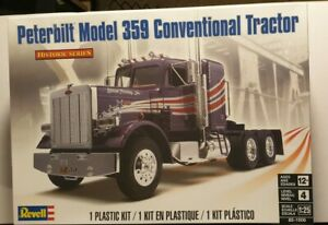 REVELL PETERBILT 359 CONVENTIONAL TRACTOR MODEL KIT 1/25 HISTORIC SERIES NEW