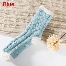 Très confortable Cachemire chaussettes femmes hiver chaud sommeil lit plancher R
