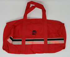 """Vintage Pizza Hut Red Duffle Bag 17"""" Long *New * NOS  *FREE FAST SHIPPING*"""