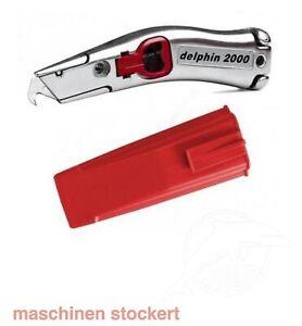 Universalmesser Alu-Guß Delphin 2000 / 100340 ***inkl. Köcher rot***