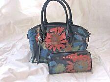 Armani Jeans Floral Handbag and wallet