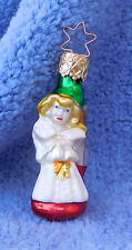 1991 Merck Family'S Old World Christmas Ornament #1037 Tyrolean Girl Retired '97