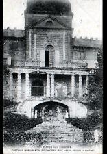 VAYRES prés de LIBOURNE (33) Portique du CHATEAU du XIII° Siécle , en 1907