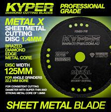 METAL X SHEET METAL DIAMOND CUTTING DISC 125MM