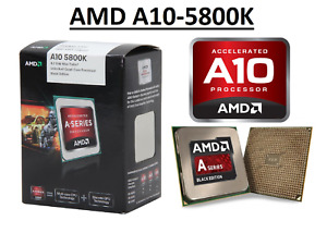 AMD A10-5800K Quad Core ''Trinity'' Processor 3.8 - 4.2 GHz, FM2, 100W CPU
