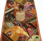 """33% OFF 60"""" CRAZY QUILT BEADD DECOR SEQUIN SARI LACE THROW WALL HANGING TAPESTRY"""