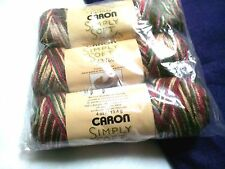 NEW Caron Simply Soft Paints Yarn 3 - 4oz Skeins Factory Packaged COUNTRY CHARM