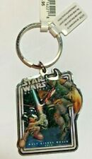 Disney Key Chain Ring - Star Wars Weekends 2010 Logo Jedi Mickey/ Boba Fett