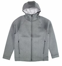 The North Face Mens Sweater Gray Size Large L Zip-Front Upholder Hooded $179 428