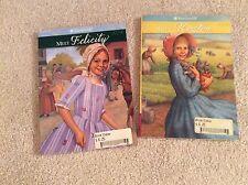American Girl Books Meet Felicity And Meet Kirsten