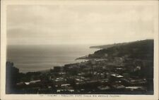 Vomero Posillipo Visto Dalla via Aniello Falcone Italy Real Photo Postcard