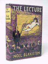 NOEL BLAKISTON - signed - The Lecture and other stories 1961 1st/1st HB DW