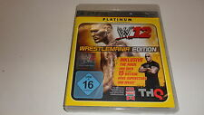 PlayStation 3  PS 3  WWE 12 - Platinum Edition