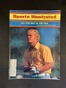 Jack Nicklaus Wins Golf PGA Title March 8th 11th 1971 Sports Illustrated