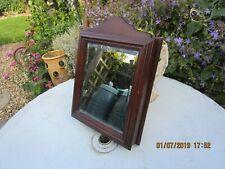 Belle ancienne clé armoire avec Biseauté Miroir Front