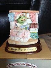 Collectable Leonardo Little Nook Village Ornament - Felicity Frog