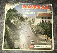 Viewmaster Reels Nassau Bahamas Includes Booklet and 3 Reels