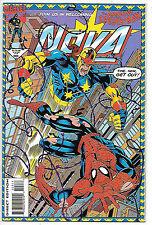 Nova #3 (Marvel 1994, vf-nm 9.0) with Spider-Man