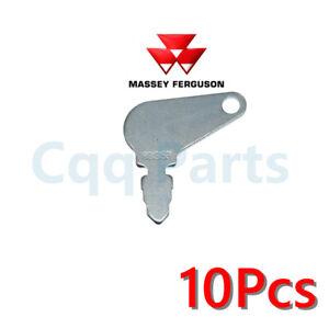 10pcs 83353 Short Hencol Key For Massey Ferguson John Deere case 192923M1 bobcat