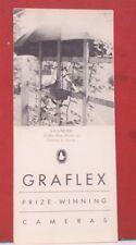 GRAFLEX Prize Winning Cameras Brochure Equipment Accessories Data & Price List