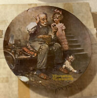 Vintage 1978 NORMAN ROCKWELL 2nd Of HERITAGE COLLECTOR PLATE The Cobbler