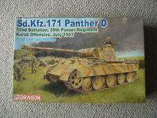 Dragon 1/35 Panther ausf.D (52nd Batt/39th Pz Reg) : Kursk 1943