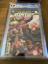 Justice League   #6  CGC 9.8